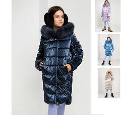 р.122-152 Зимняя куртка курточка куртка пальто зимнее детское София
