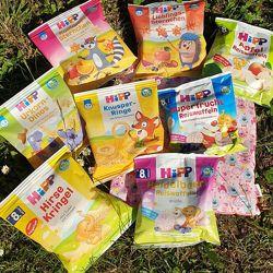 Детские рисовые вафли и кукурузные палочки от 8 и 12 месяцев