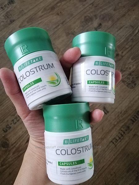 Колострум в капсулах, молозиво, Colostrum, LR, оригинал