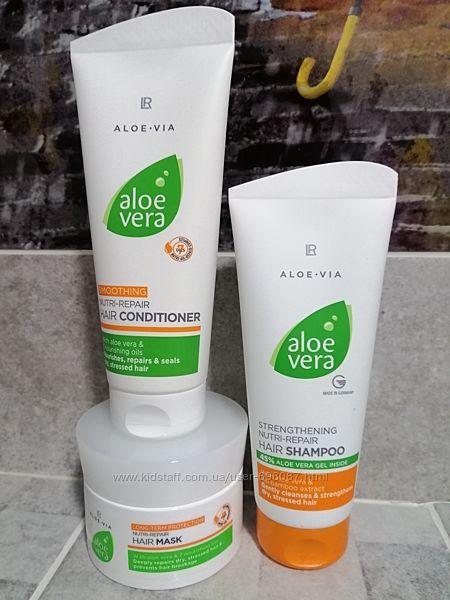 Набор aloe vera для волос, обновление и уход, LR, Germany