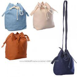 Хлопковая сумка на подкладке