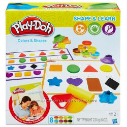 Play Doh Shape and Learn Цвета и формы