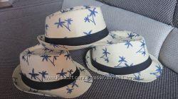 летние соломенные шляпы унисекс 54-58 см