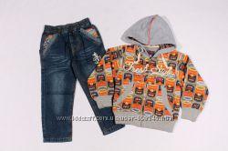 Комплект джинсы  пайта по супер цене Отличное качество, 3-8 лет
