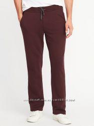 Мужские спортивные штаны Old Navy на флисе, серые и бордо. Размер ХХХЛ