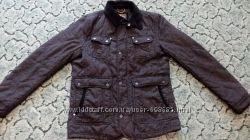 Теплая куртка на мальчика р 164