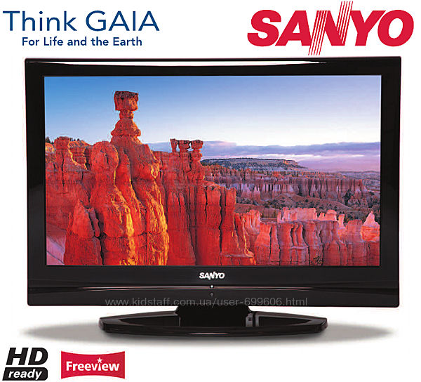 SANYO LCD Телевизор с Антеной HD Digital TV