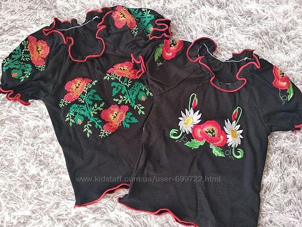 Детская футболка, вышиванка, 80-92р