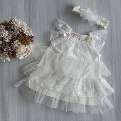 Летнее платье ТМ Happy Tot