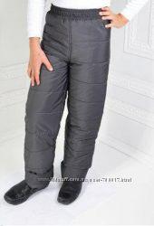 Детские зимние штаны, брюки на рост 98-140 см. Опт, дропшиппинг, розница.