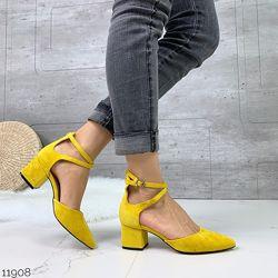 Туфли Lola цвет mustard