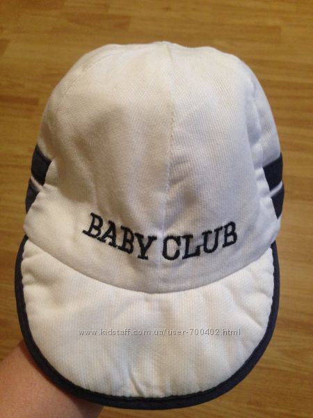 Кепка Baby Club, хлопок, обьем 45-48см