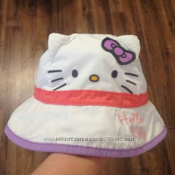 Панамка Hello Kitty, хлопок, 2-5лет