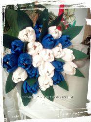 Букет из конфет Голубая фантазия