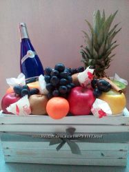 Фуд букет, мужской букет, пивной, овощной, фруктовый