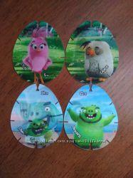Продам карточки Angry Birds