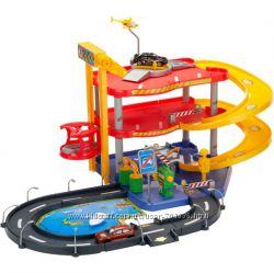 Игровой набор - Гараж Bburago 3 уровня, 2 машинки серии Street Fire