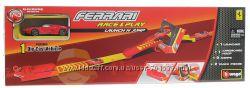 Bburago Трек FERRARI Скоростной прыжок трек с пускателем, 1 маш
