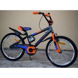 Двухколесный велосипед Азимут Стич Аzimut Stitch  на 12, 14, 16, 18, 20 д