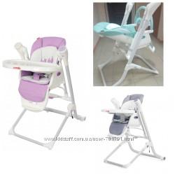 Каррелло Триумф 10302 стульчик качалка шезлонг детский