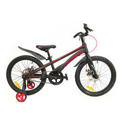 Crosser BMX 20 дюймов велосипед двухколесный детский магниевый