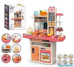 Детская кухня 889-162 Home Kitchen, вода, свет, звук, 65 предметов