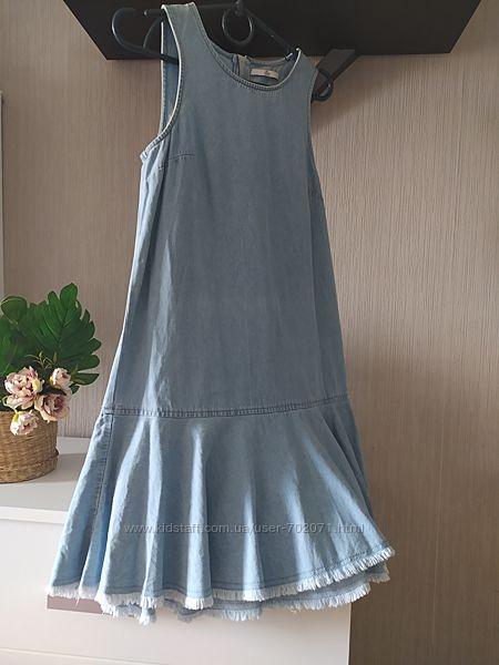 Джинсовый сарафан , платье Marks&Spencer