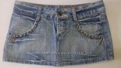 Фирменная джинсовая юбка Lee Cooper
