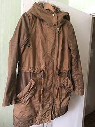 Куртка зимняя на меху Bershka