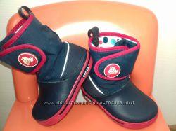 Ботинки Crocs С 6  стелька 13, 5 см в отличном состоянии
