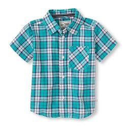 Стильная рубашка Childrens Place размер 4Т состояние новой