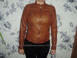 Bershka  S кожаная куртка