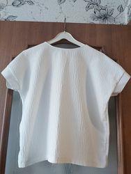 Massimo dutti блузка оверсайз