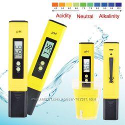 Цифровой рH метр для воды, анализатор  уровня кислотности