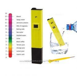 Ph meter пш метр тестер, измеритель уровня кислотности воды