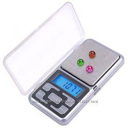 Весы 0, 01 - 200г электронные, карманные, ювелирные профессиональные