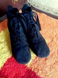 Текстильные туфли для танцев