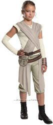 Костюм Star Wars The Force Awakens Child&acutes Deluxe Rey Costume, Small