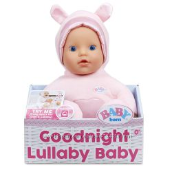 Музыкальная кукла Baby Born Колыбельная Goodnight Lullaby Blue Eyes