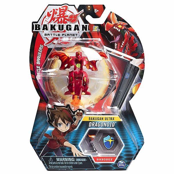Bakugan. Battle Planet игровой набор из одного ультра бакугана Huper Dragon