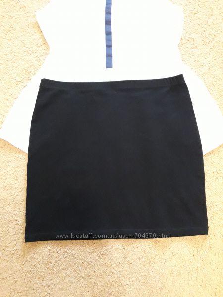 Юбка H&M черная, р. 158-164 6-8 xs-s.