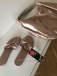сумка новая фирма HM шелковая красивая вместительная
