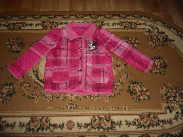 Демісезонна куртка Disney George на 2-3 років 92-98 см більшомірить