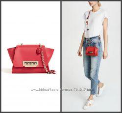 Маленькая красная сумочка ZAC Zac Posen Eartha Mini Crossbody  оригинал