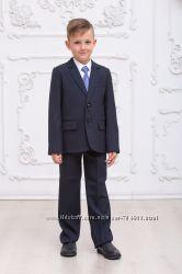 Школьный костюм, размеры 122, 128, 134, 140, 146 Черный