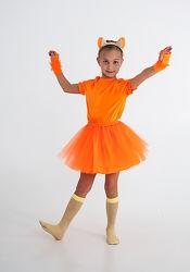 Карнавальный костюм лисички белочки