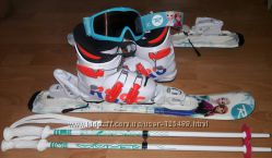 Горные лыжи детские Rossignol Frozen Baby Kid-X