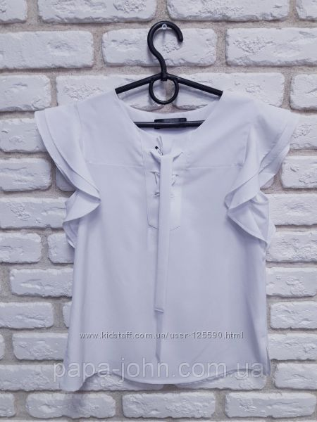 Блуза Baby Angel со шнуровкой у горловины