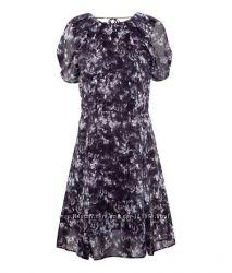 Платье H&M с открытой спиной и животным принтом
