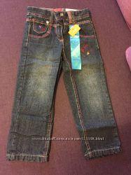 Джинсы Slim на хлопковой подкладке, рост - 98 см